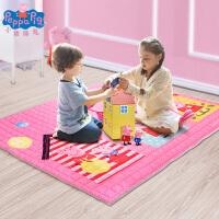 小猪佩奇儿童爬行垫家用婴儿客厅地垫保暖爬爬垫加厚卧室游戏毯 195cm*145cm*1cm