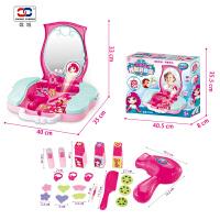 儿童化妆品公主彩妆盒套装玩具女孩3-6岁梳妆台过家家玩具化妆盒