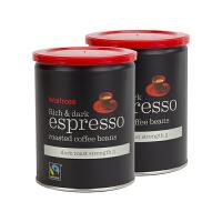 【网易考拉】【英国皇室 Waitrose】,烘烤意式浓缩原装进口咖啡豆 卡布奇诺或拿铁的好基底 口感醇厚饱满 250g
