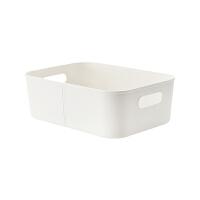 {夏季贱卖}桌面厨房浴室橱柜杂物零食化妆品塑料整理筐收纳筐收纳盒收纳篮 三个装