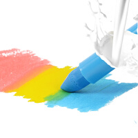 儿童蜡笔可水洗丝滑宝宝幼儿涂鸦旋转画笔画画工具