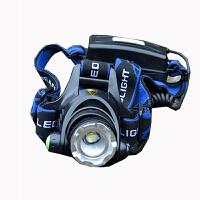 T6 LED强光头灯 伸缩变焦 充电远射防水V9钓鱼头灯厂矿灯