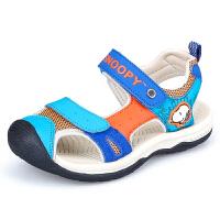 史努比童鞋男童凉鞋2016夏季新款儿童沙滩鞋魔术贴中小童鞋凉鞋