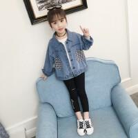 女童牛仔外套春装2019新款韩版中大童儿童时尚上衣休闲童装潮