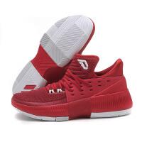 adidas阿迪达斯男鞋篮球鞋2017新款D Lillard3利拉德三代运动鞋BY3192