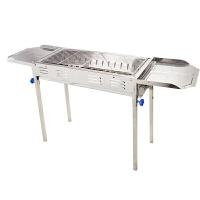 不锈钢大号烧烤架 户外便携炉子家用木炭野外烤肉工具全套5人以上