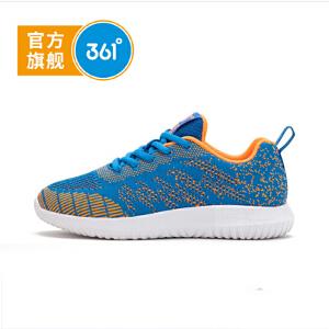 361°361度童鞋男童跑鞋2018秋季男童鞋儿童运动鞋N718111