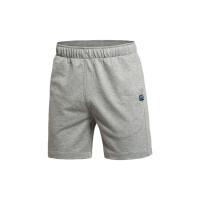 李宁短裤短卫裤男士运动生活系列夏季针织运动裤AKSK117