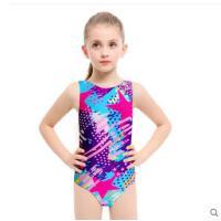 儿童泳衣女孩宝宝可爱连体泳装中大童公主女童韩国三角学游泳训练