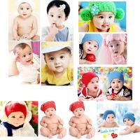 女宝宝图片墙贴画婴儿照片海报孕妇漂亮女孩大眼睛萌娃宝宝画报