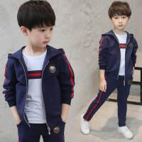 童装男童秋季套装2018新款儿童运动三件套男孩衣服春秋装韩版潮衣