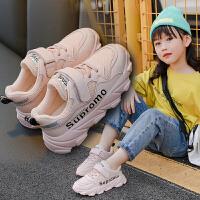 女童运动鞋百搭儿童网鞋透气单老爹鞋子