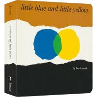 【首页抢券300-100】Little Blue and Little Yellow 小蓝和小黄Leo Lionni李欧