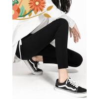 女裤2018春新款黑色打底裤女外穿紧身小脚裤女铅笔大码魔术裤 j1y