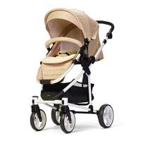 高景观冬夏婴儿推车可坐可躺折叠轻便双向避震折叠宝宝婴儿车g9b