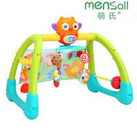 婴幼儿玩具 新生儿脚踏音乐摇铃健身架玩具宝宝儿童早教益智礼盒装生日礼物
