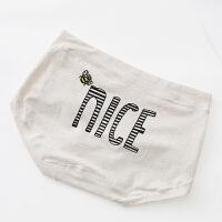 贴身日记俏皮风字母舒适莫代尔棉质少女士中低腰内裤三角短裤 均码高弹,建议裤码25-30