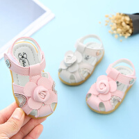 女宝宝凉鞋公主鞋夏季学步1-3岁软底防滑小童婴幼儿凉鞋