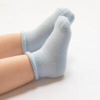 珈楚 春秋新款全棉宝宝袜子0-3岁婴儿松口无骨纯棉0-1岁新生儿袜子