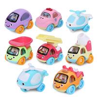 儿童回力车小汽车飞机工程车男孩玩具1-2-3-4岁惯性车宝宝玩具车