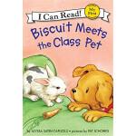 小饼干遇到班级宠物My First I Can Read:Biscuit Meets the Class Pet