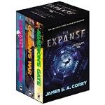 英文原版 苍穹浩瀚3册套装 美剧原著 无垠的太空 The Expanse Boxed Set: Leviathan W