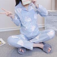 春夏季纯棉纱布产后月子服 孕产妇睡衣薄款哺乳喂奶大码和服套装