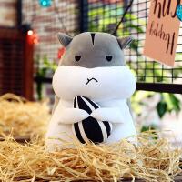 可爱土拨鼠公仔萌鼠毛绒玩具小松鼠玩偶娃娃送儿童男女有生日礼物
