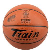 篮球5号男女青少年中小学生室内室外PU水泥地耐磨 火车头K702 送球针+网兜+气筒