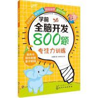 学前全脑开发800题专注力训练 化学工业出版社