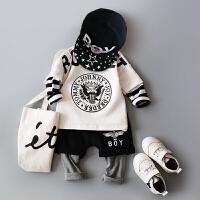童装婴儿春装套装男宝宝婴幼儿外出服0-1-2-3岁男童潮装