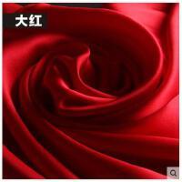 杭州纯色缎面丝绸真丝丝巾女韩版长款桑蚕丝披肩围巾 可礼品卡支付