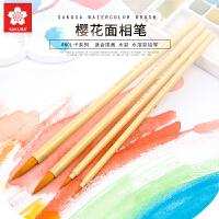 日本Sakura樱花面相笔 水彩画笔毛笔勾线笔水彩笔组合 漫画上色笔