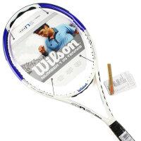 Wilson/威尔胜 Wilson n6 Hybrid blue 103 全碳素 专业单人 网球拍 WRT582810