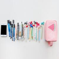 韩国可爱水果创意简约笔袋 男女初中大容量学生小清新文具盒文具袋