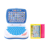 儿童早教玩具 掌上电脑汉语学拼音点读机3-6周岁宝宝学习机早教机 +QC1377CE(颜色随机)