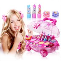 Disney迪士尼华丽公主化妆车儿童化妆品舞台表演生日装扮过家家儿童彩妆女孩玩具