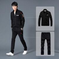 运动套装男 韩版时尚两件套男士青年休闲卫衣