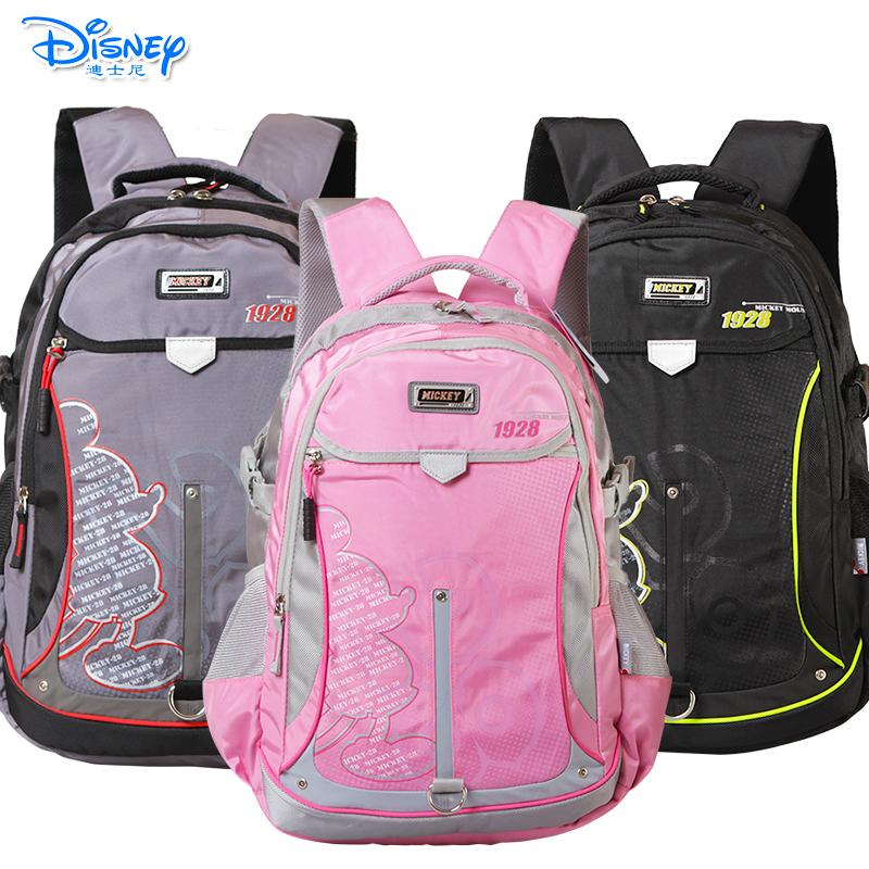 Disney/迪士尼 学生书包初中-高中男女米奇儿童休闲书包双肩书包有买就有送 送笔袋