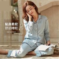 月子服春秋夏季纯棉薄款产后孕妇家居服套装喂奶哺乳睡衣孕妇睡衣 j0z