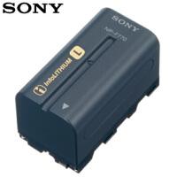 SONY索尼NP-F770摄像机原装电池 适用索尼MC2500 NX3C NX5 Z7C PXW-X280 X160