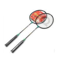 强力 羽毛球拍 学生双拍 情侣款 控球型业余初级训练拍2支装 5316