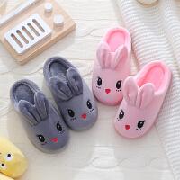 一家三口亲子保暖居家棉拖鞋冬季儿童室内拖鞋