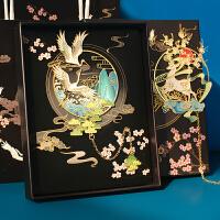 复古典镂空金属书签创意中国风文艺精美纪念品古风学生书夹小礼品