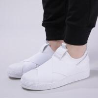 adidas阿迪达斯三叶草女子板鞋18款SUPERSTAR贝壳头休闲鞋BZ0111