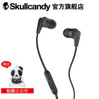 SKULLCANDY INKD 2.0 IN-EAR(音客)手机线控带麦入耳式耳机 亮黑色