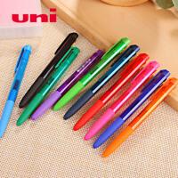 UNI三菱书写中性笔 学生用日本彩色水笔手账笔0.38/0.5按动签字笔