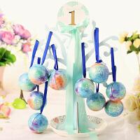 爱情树喜糖盒圆球形小号马口铁欧式结婚包装盒子婚礼糖果盒精灵球七夕 抖音