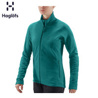 Haglofs火柴棍女款全拉链保暖抓绒衣604457 欧版