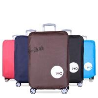行李箱保护套28旅行箱套20拉杆箱套24寸罩26加厚防水箱袋 黑色28寸 礼物随机配送